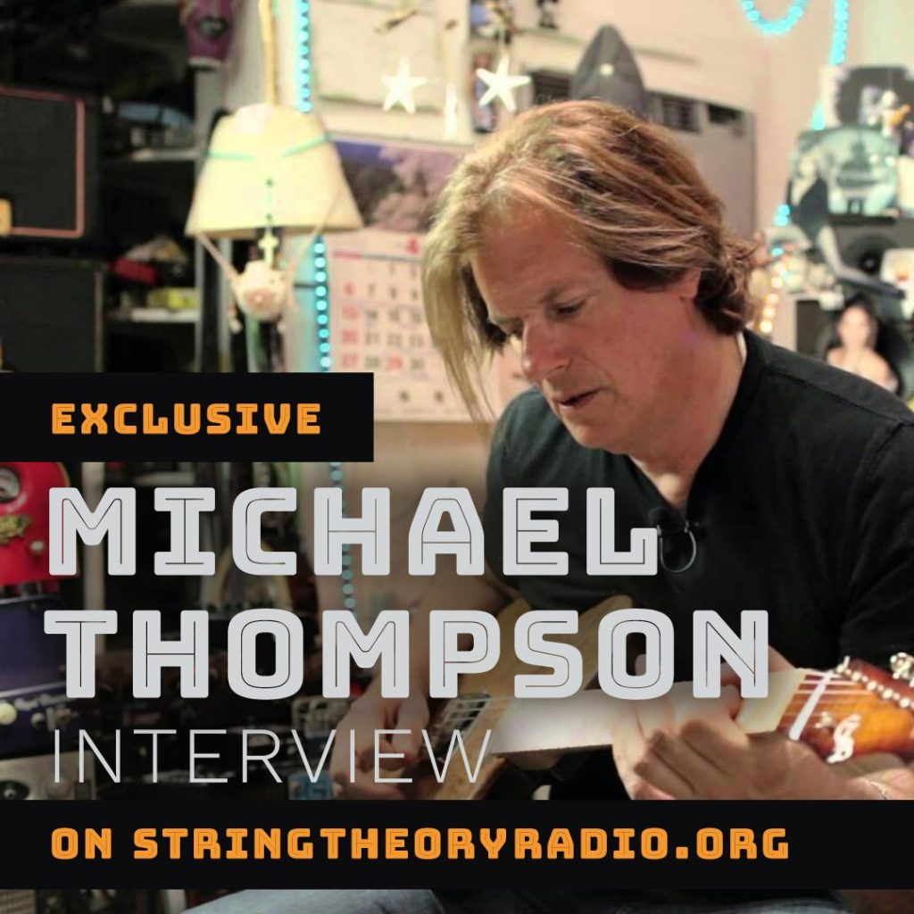 Michael Thompson playing guitar
